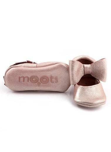 Moots Moots Bronz Fiyonklu Ayakkabı Pudra